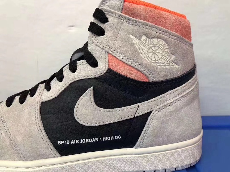 """bf2aaaa14e97 The post The Air Jordan 1 Retro High OG Surfaces in """"Hyper Crimson"""" for 2019  appeared first on JustFreshKicks."""