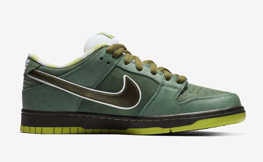"ebd5eca9e5e4ff Concepts x Nike SB Dunk Low ""Green Lobster"" Release Date  Coming Soon  Price   100. Color  Bright Cactus Volt-El Dorado-Bright Cactus Style Code   BV1310-337"