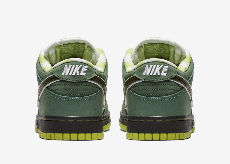 """on sale f8582 d8a15 Concepts x Nike SB Dunk Low """"Green Lobster"""" Release Date Coming Soon  Price 100. Color Bright CactusVolt-El Dorado-Bright Cactus Style Code  BV1310-337"""