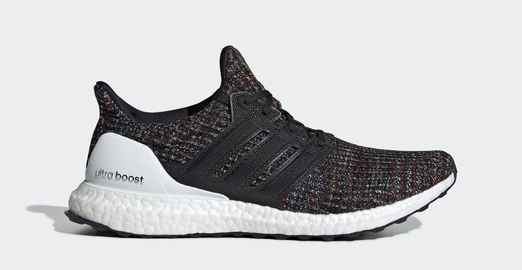 "4c1e72e396b adidas Ultra Boost 4.0 ""Black Multicolor"" Core Black Core Black Multicolor  January 1"