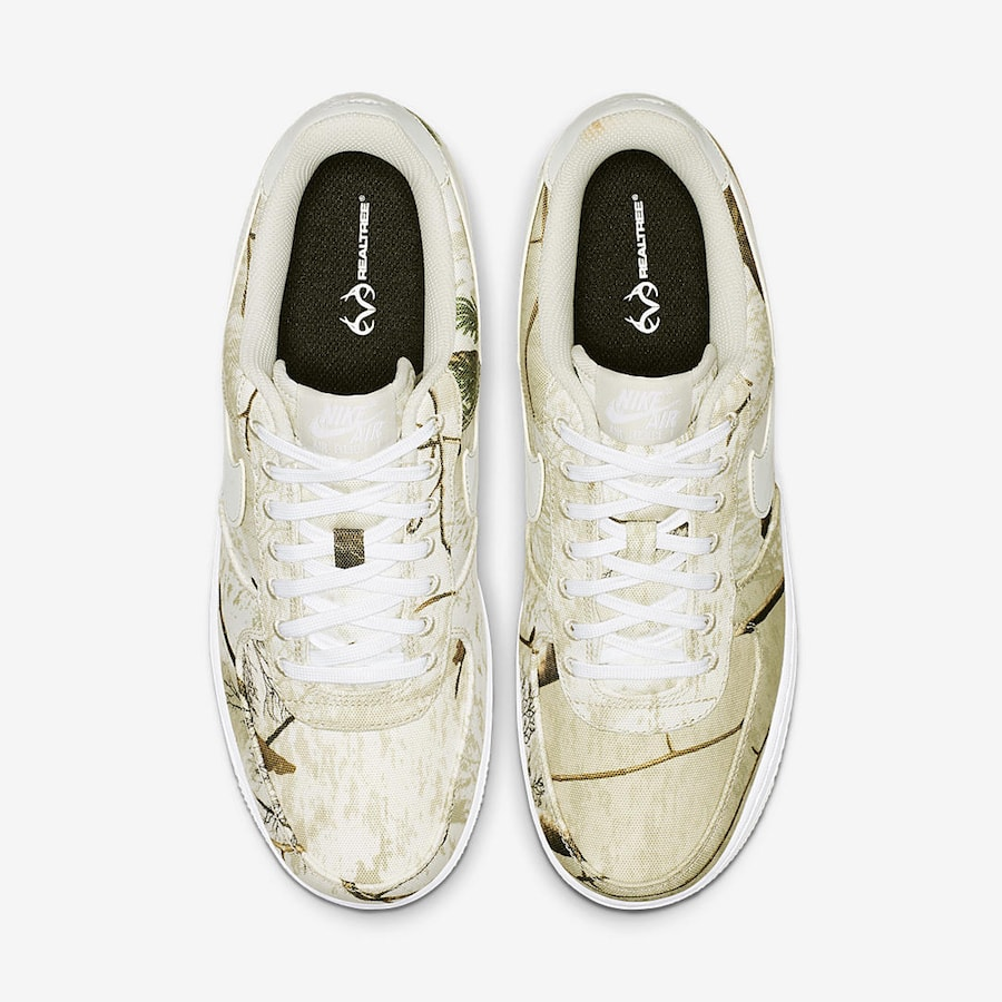 """huge selection of 0090f 58d3b Nike Air Force 1 Low """"Realtree"""" Release Date  January 4, 2019. Price   110.  Style Code  AO2441-100"""