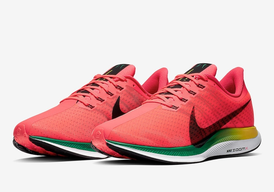 low priced 9679e 32ac3 Nike s new Zoom Pegasus Turbo has made quite the splash in the running  scene this year. With its hybrid Zoom and React midsole, the futuristic  silhouette is ...