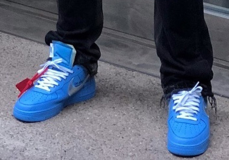 buy popular c0ea6 e732a However, it appears that the two plan to go out with a bang, as Virgil  recently premiered a bright new blue colorway of the Off-White Nike Air  Force 1 ...