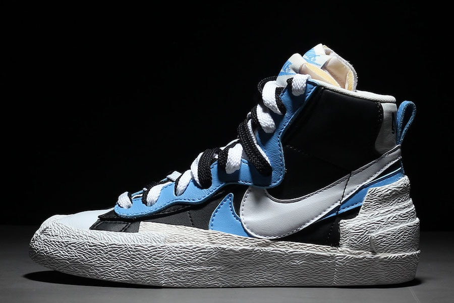 innovative design b0037 1125d Sacai x Nike BlazerDunk Mid Release Date April 19th, 2019. Price 140.  Style Code BV0072-700