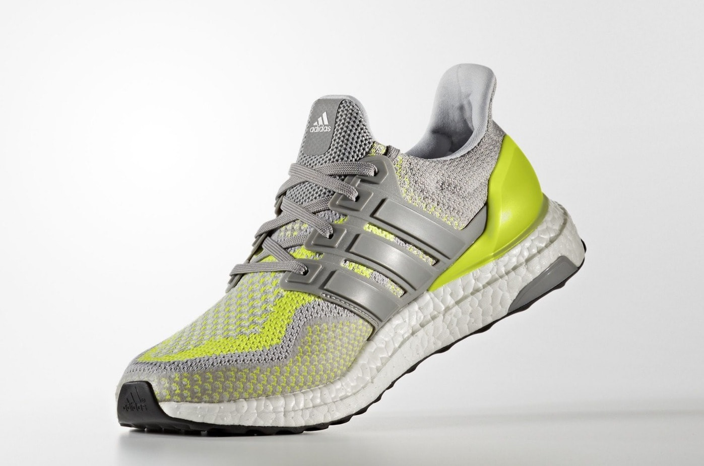 "premium selection 48bd3 e6362 adidas Ultra Boost 2.0 LTD ""GITD"" Release Date  January 1st, 2018. Price    200. Color  Charcoal Solid Grey Charcoal Solid Grey Solar Yellow"