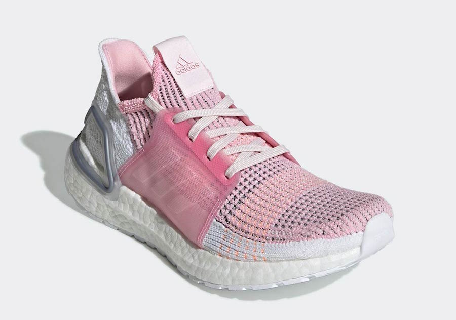 c9b75fbb4 adidas Ultra Boost 19 Black   Pink Release Info - JustFreshKicks