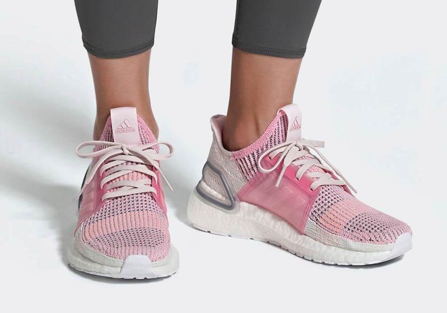 c9ea1bece adidas Ultra Boost 19 Black   Pink Release Info - JustFreshKicks