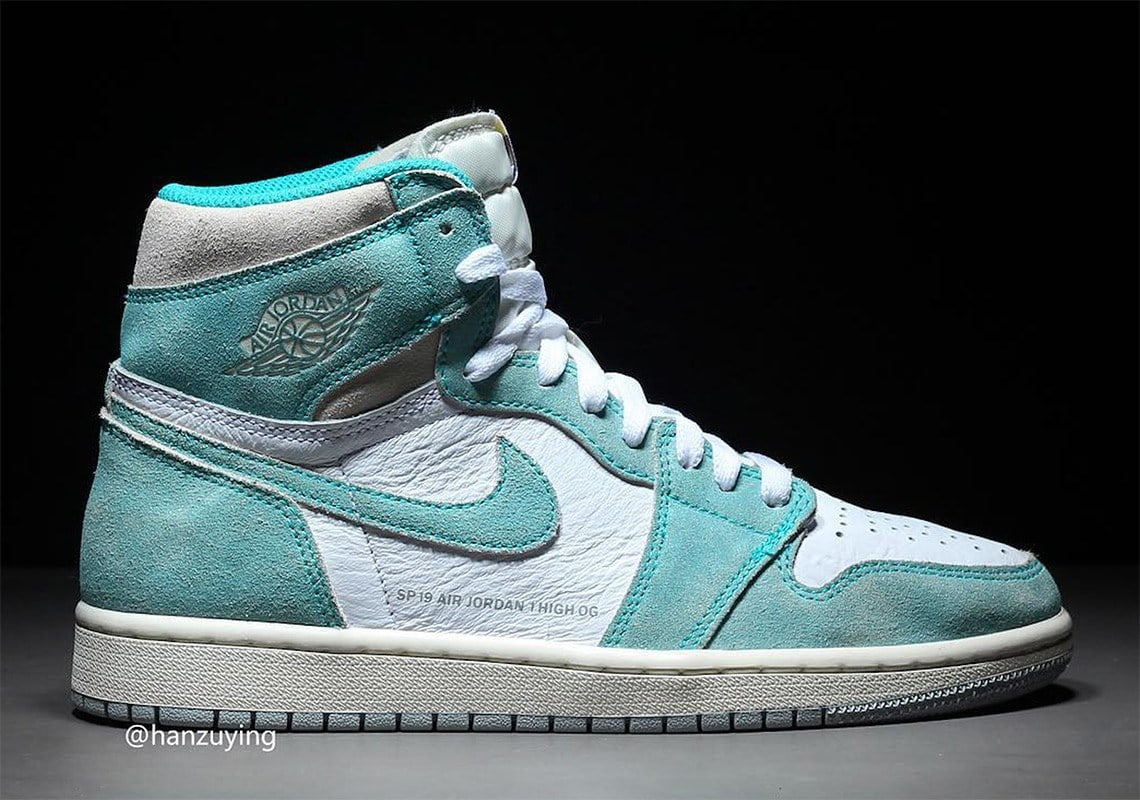 finest selection 5ebaf ac234 Air Jordan 1 Retro High OG Release Date  February 15th, 2019. Price   160.  Color  Turbo Green White-Light Smoke Grey-Sail Style Code  555088-311