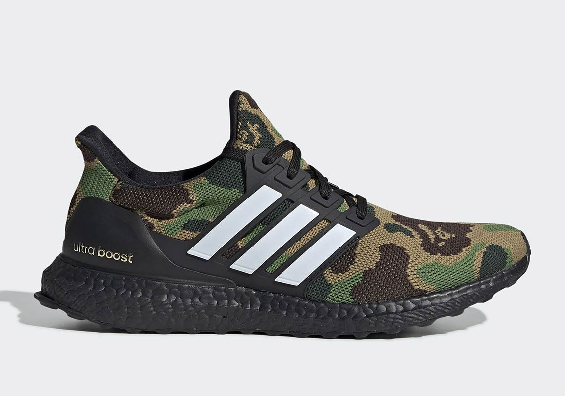 quality design 98087 aa06d BAPE x adidas Ultra Boost Release Date February 2, 2019. Price 200.  Style Code G54784