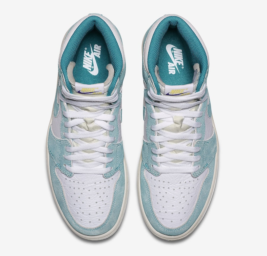 best website 60a7f 76232 Air Jordan 1 Retro High OG Release Date  January 2019. Price   160. Color   Turbo Green White-Light Smoke Grey-Sail Style Code  555088-311