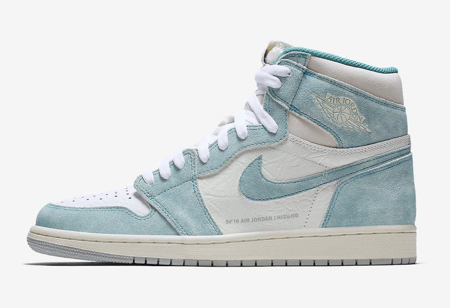 c2ef381e57b8f1 Air Jordan 1 Retro High OG Release Date  January 2019. Price   160. Color   Turbo Green White-Light Smoke Grey-Sail Style Code  555088-311