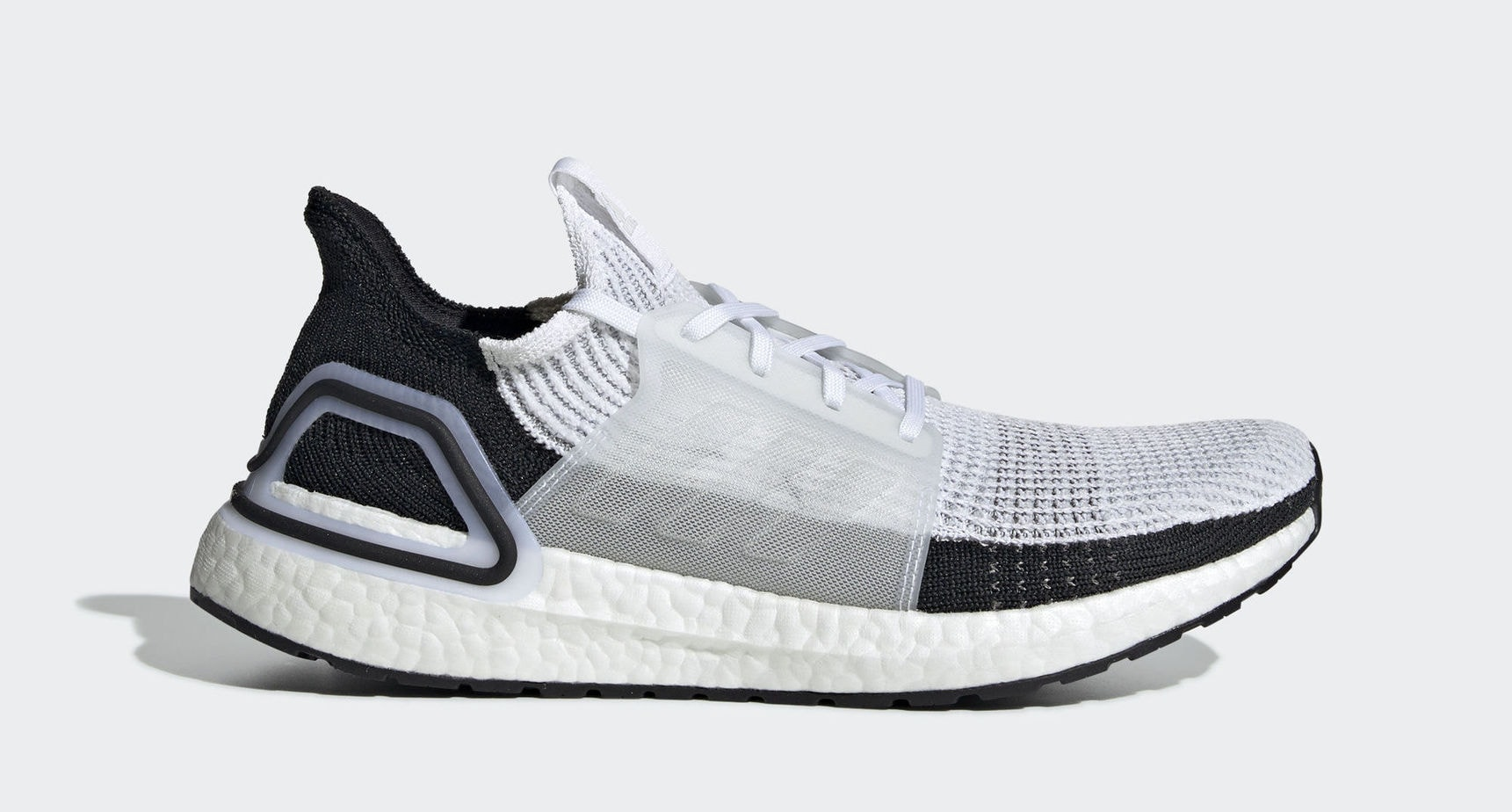 "5742c8d47ed AVAILABLE NOW. adidas Ultra Boost 19 ""Panda"" Ftwr White Ftwr White Grey Two  February 21"