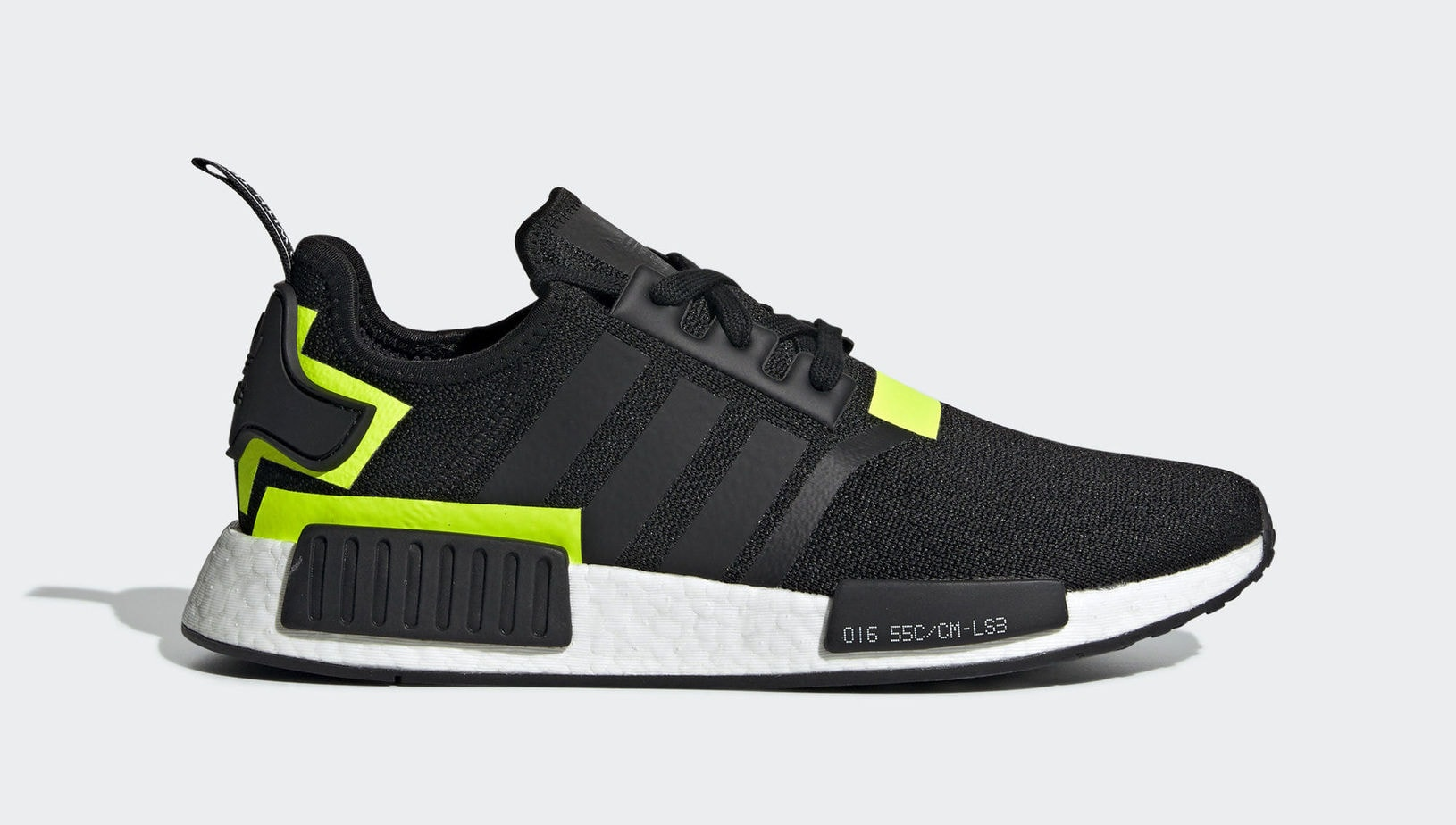 "the latest 1a3ae c77a0 adidas NMD R1 ""BlackNeon"" Core BlackCore BlackNeon Green February 1, 2019"