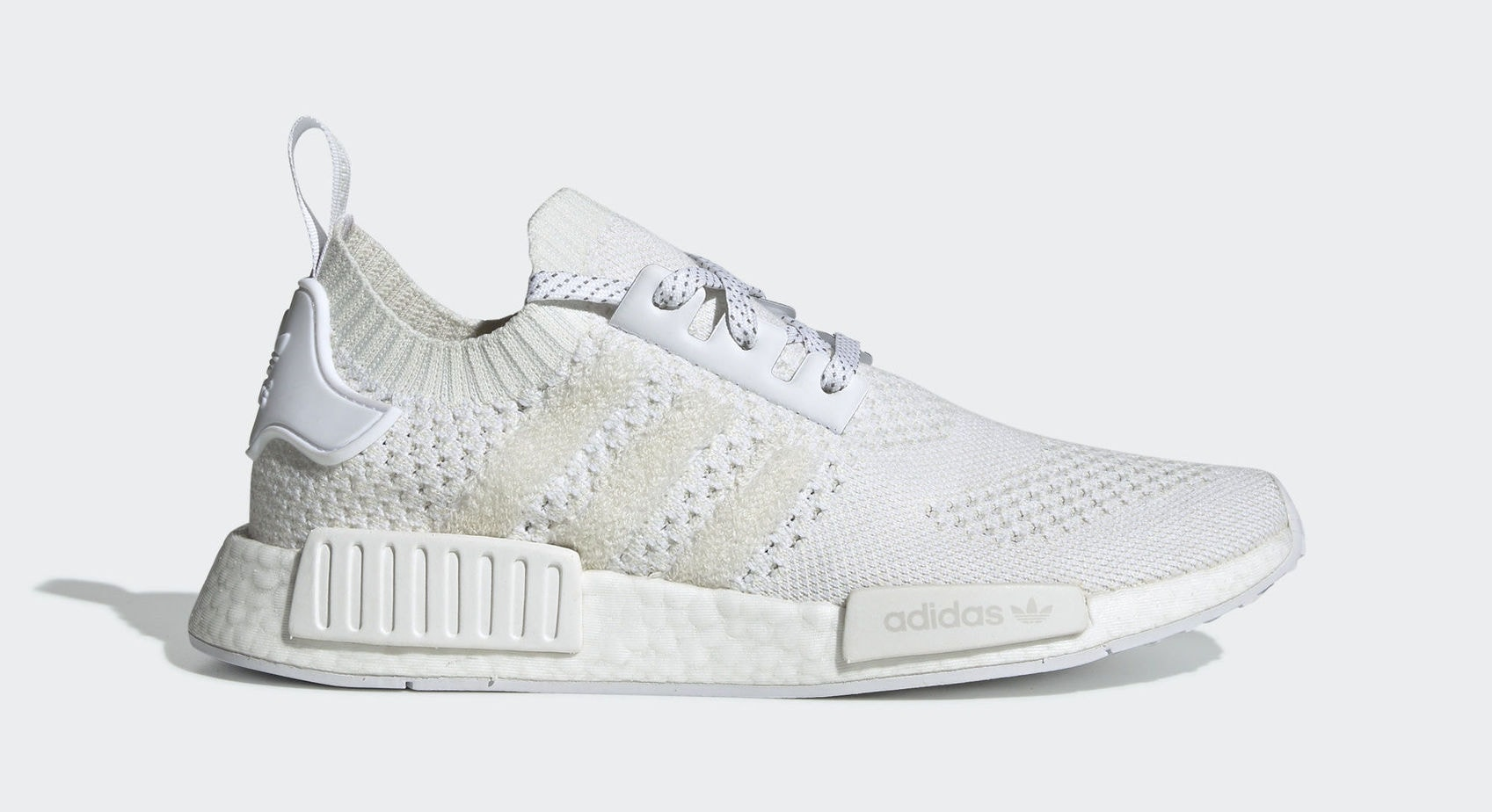 "1679af208cfea3 adidas NMD R1 PK ""White"" Ftwr White Ftwr White Linen Green January 14"