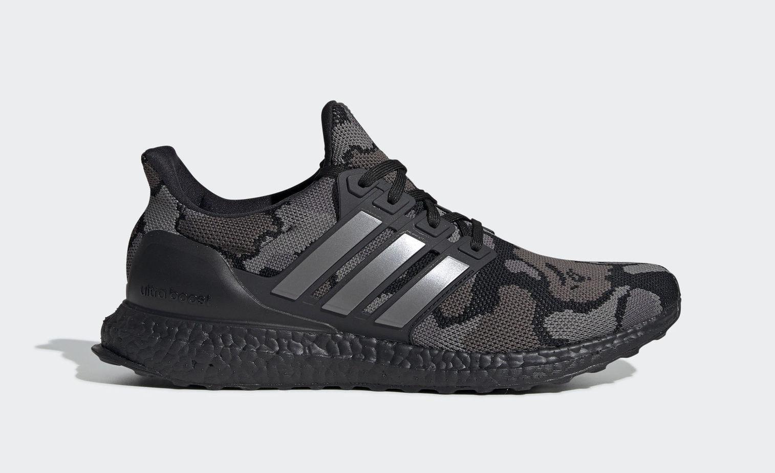 """cheap for discount c4a4e 12ce1 BAPE x adidas Ultra Boost """"Black Camo"""" Black CamoBlack CamoBlack Camo  February 2, 2019"""