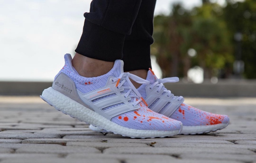 the latest f04ed aac14 The post Madness x adidas Ultra Boost Appears in New On Foot Images  appeared first on JustFreshKicks.