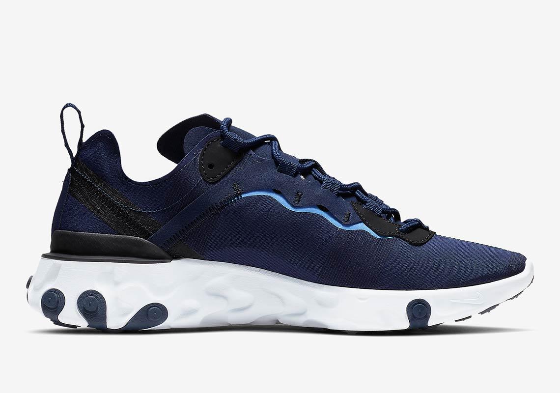 Nike React Element 55 Quot Tar Heels Quot Release Info