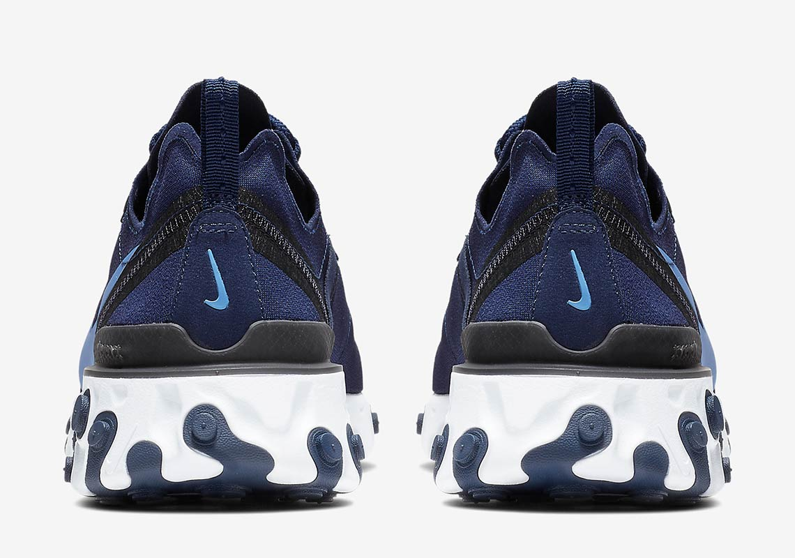 Nike S React Element 55 Surfaces In A New Navy Blue Color