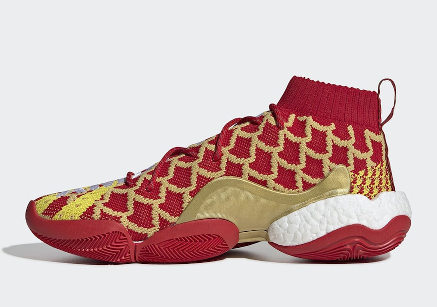 "fe5ae66e4 Pharrell x adidas Crazy BYW ""Chinese New Year"" Release Date  February 15th"