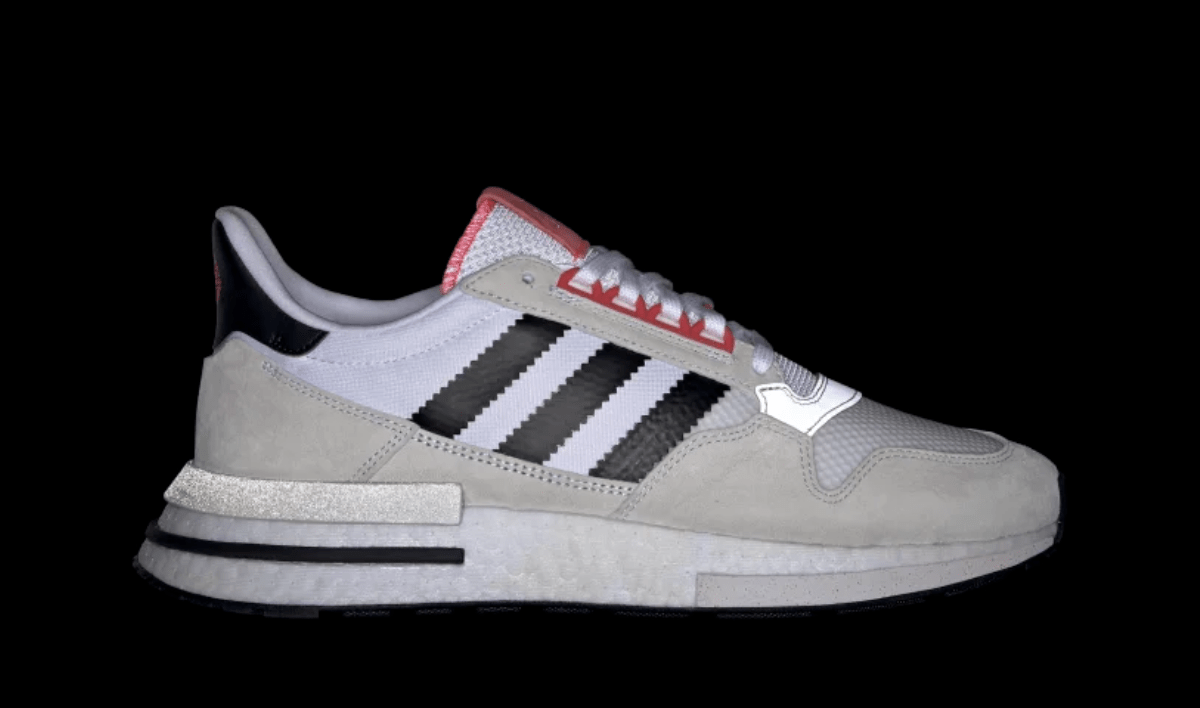 "best cheap d4af3 efee5 adidas ZX500 RM ""Forever"" Release Date January 25th, 2019. Price170.  Color Cloud WhiteCore BlackShock Red Style Code G27577"
