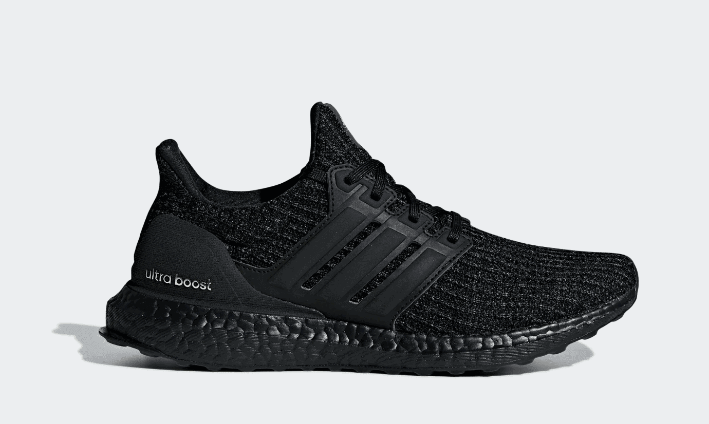 3f6570de86e2 The adidas Ultra Boost returns in triple black once more. As a fan favorite  colorway of the now legendary running shoe
