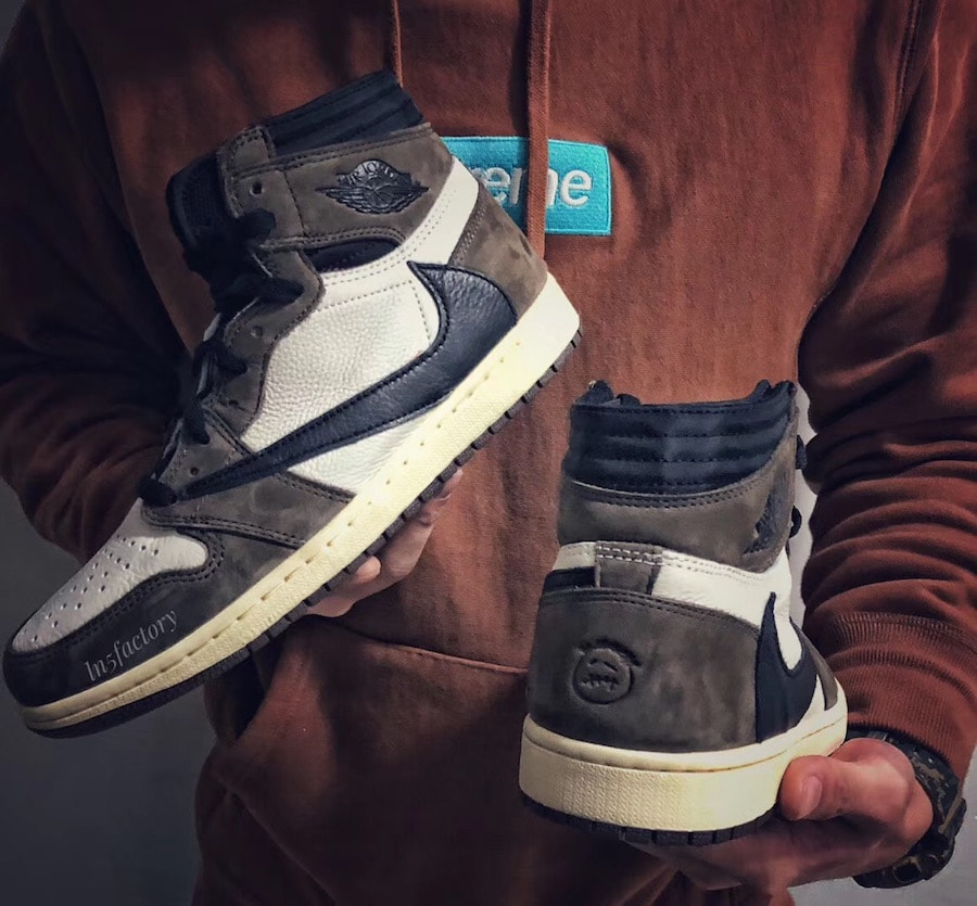 """a2d1c11244e456 The post Take a Closer Look at the Travis Scott x Air Jordan 1 High """"Cactus  Jack"""" appeared first on JustFreshKicks."""