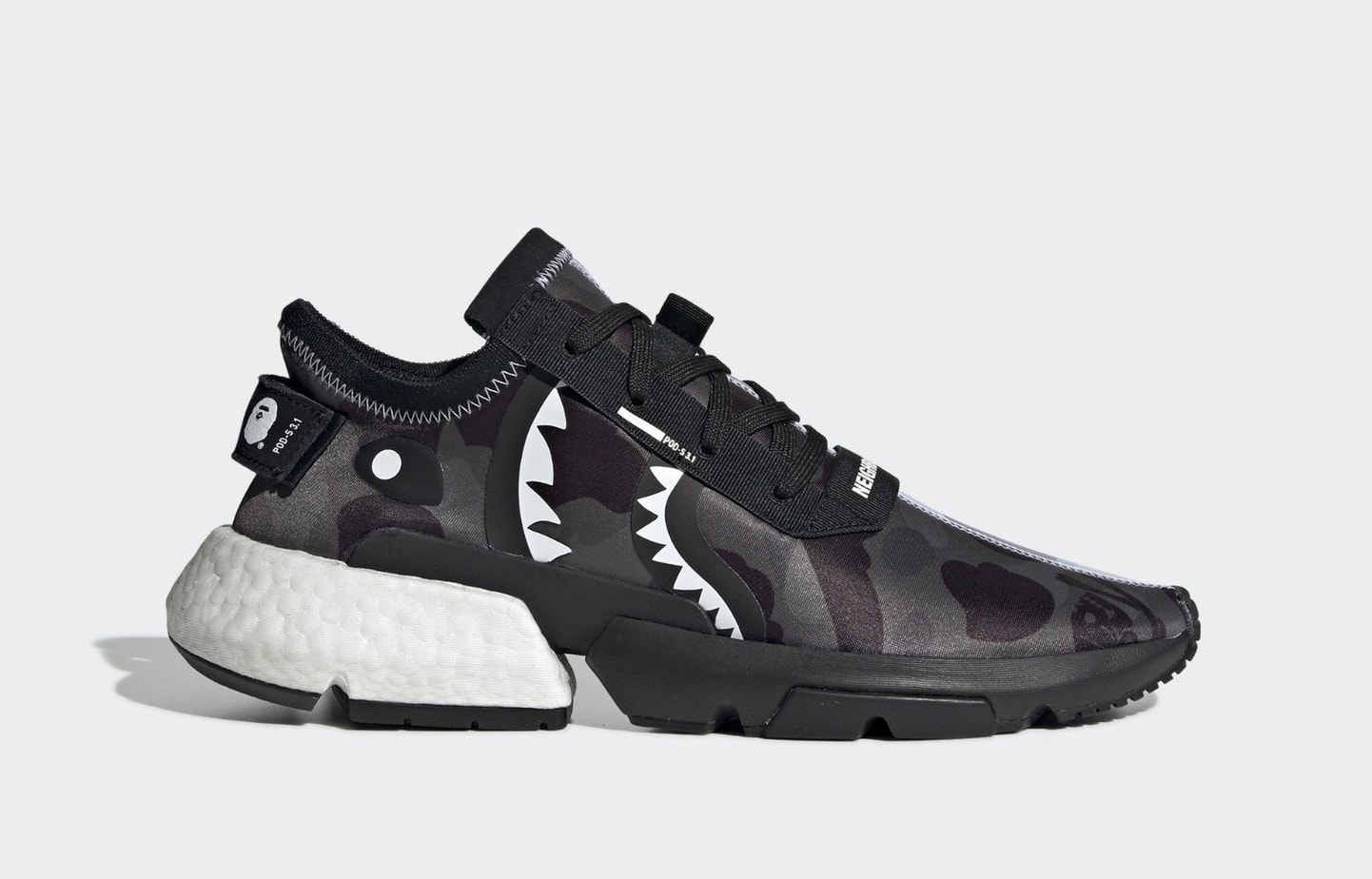 08b746347 Bape and Neighborhood are teaming up with adidas yet again this year
