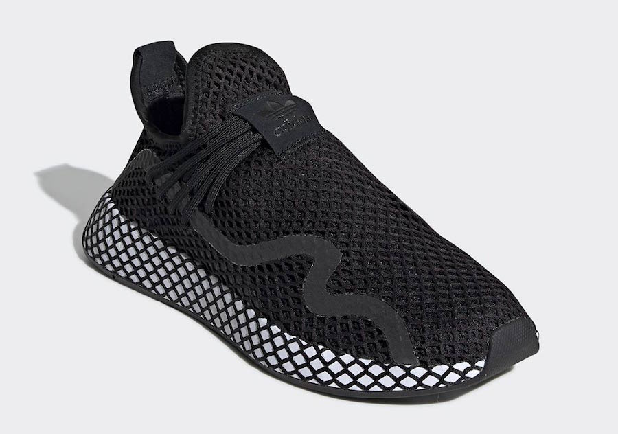 newest cef61 77c21 adidas Deerupt S Release Date February 28th, 2019. Price 110. Color  Core BlackCore Black-Cloud White Style Code BD7879