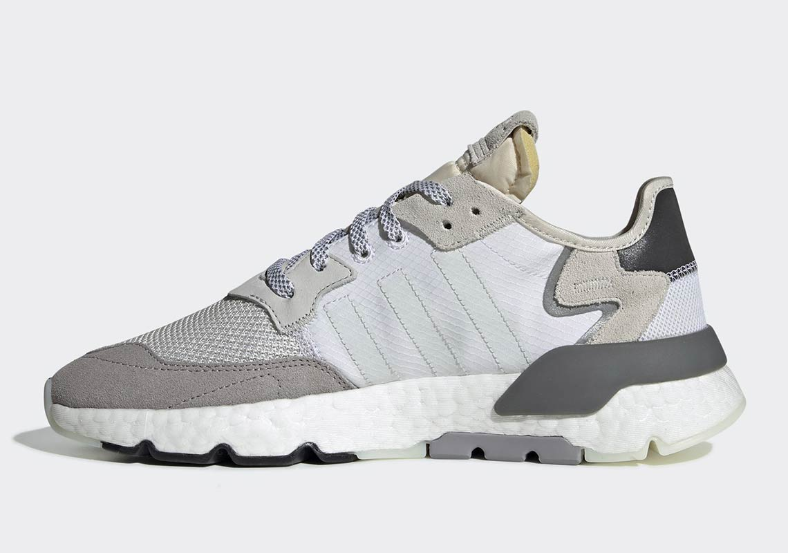 ec37f01a1c8 The post The adidas Nite Jogger 2019 Launches in Crystal White in February  appeared first on JustFreshKicks.