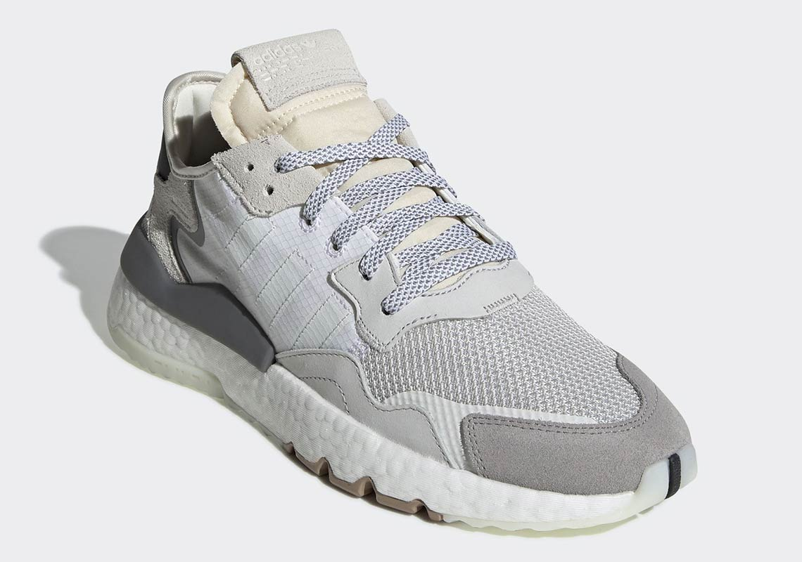Adidas Nite Jogger 2019 adidas Nite Jogger Release Date: February 28th, 2019. Price: $140. Color:  Footwear White/Crystal White/Core Black Style Code: CG5950