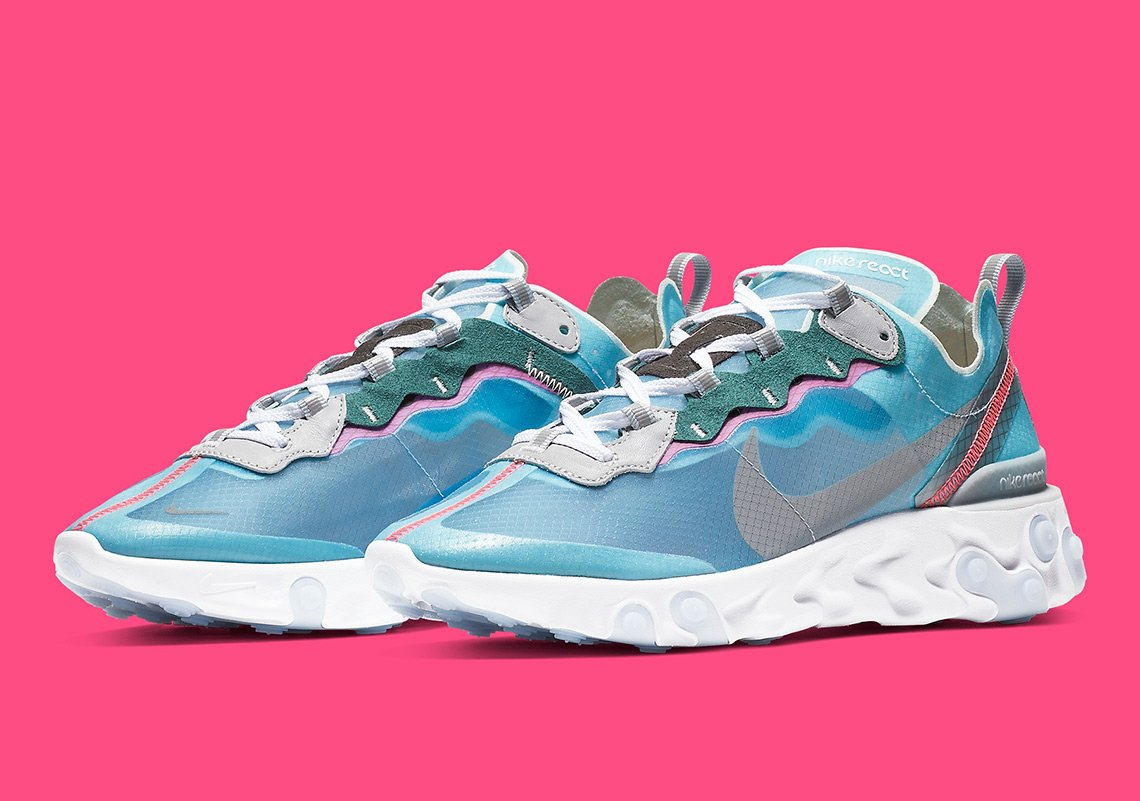 "watch a1c20 9ad2c Nike s React Element 87 has almost unanimously been named as the 2018  ""Sneaker of the Year"", and obviously, this is cause for celebration."