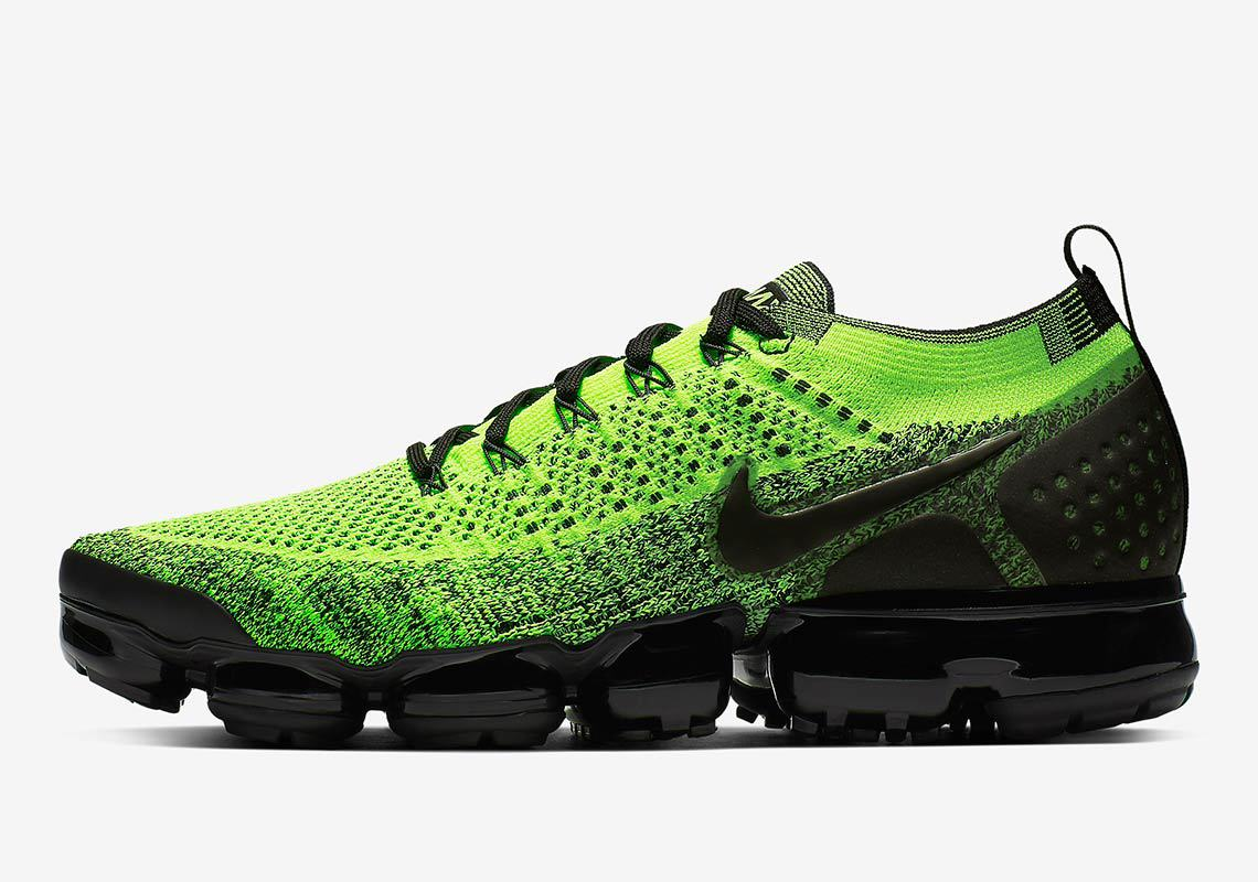 9e6c6c0f3ea Nike Air Vapormax Flyknit 2. Release Date  Coming Soon Price   190.  Color Volt Black Black Style Code  942842-701