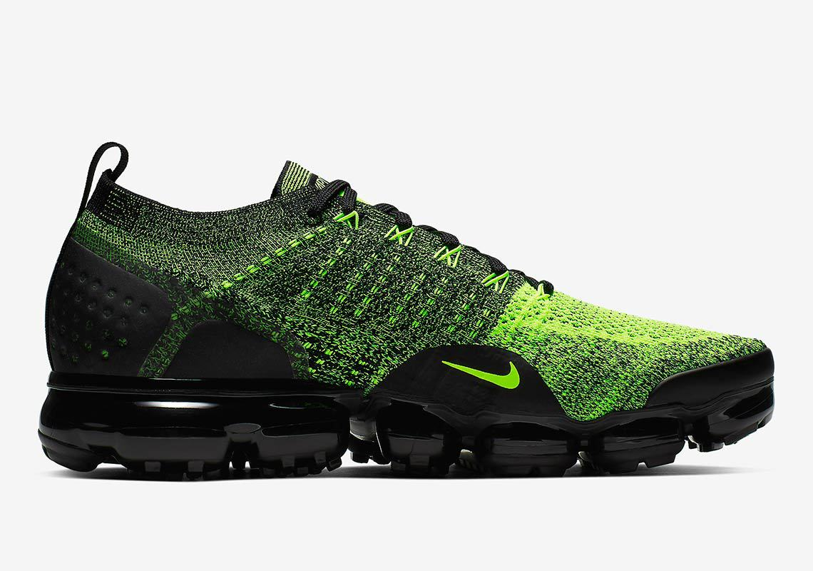 70300736d48 Nike Air Vapormax Flyknit 2. Release Date  Coming Soon Price   190. Color  Volt Black Black Style Code  942842-701