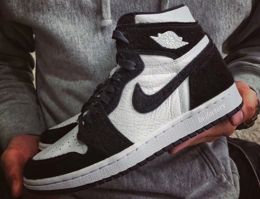 37c6abda81fc The Air Jordan 1 High OG Returns in 1985 s Original Black   White Colorway