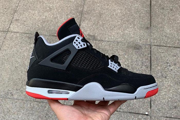 "Take a Closer Look at the Air Jordan 4 Retro ""Bred"" Releasing This Spring c405f6cf6"