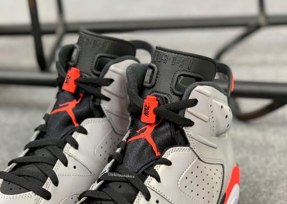best loved 52361 a6bfe The post Jordan Brand Decks Out the Air Jordan 6 With New 3M Reflective  Uppers appeared first on JustFreshKicks.
