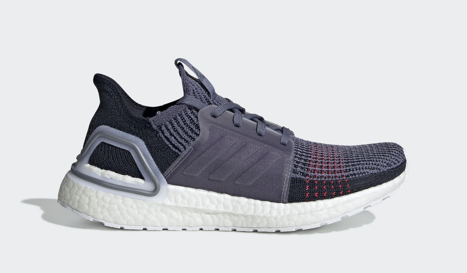 "big sale 78fd5 11a7c adidas W Ultra Boost 19 ""Raw Indigo"" Raw IndigoRaw IndigoShock Red  February 21, 2019"