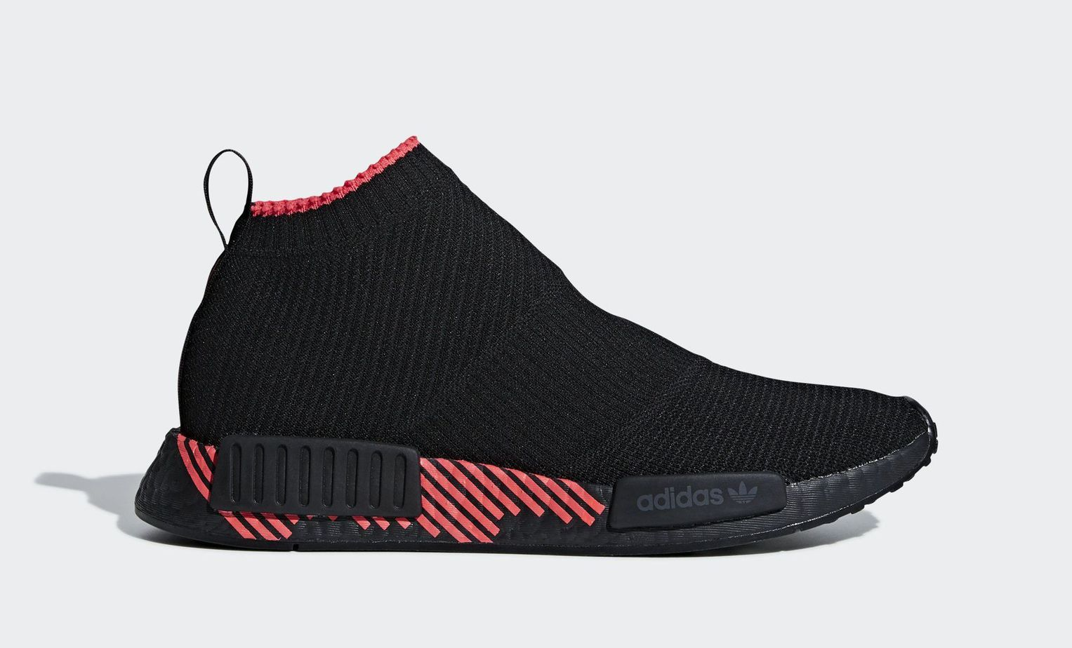 "7103b3e1ef030 adidas NMD CS1 PK ""Shock Red"" Core Black Core Black Shock Red February 1"