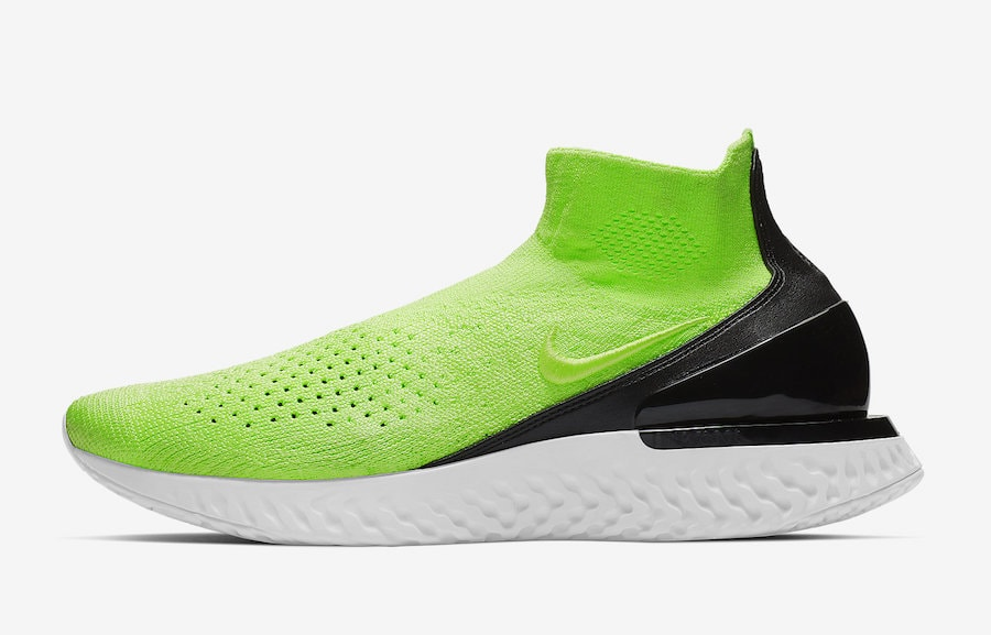 a36ec29a068 Nike Rise React Flyknit