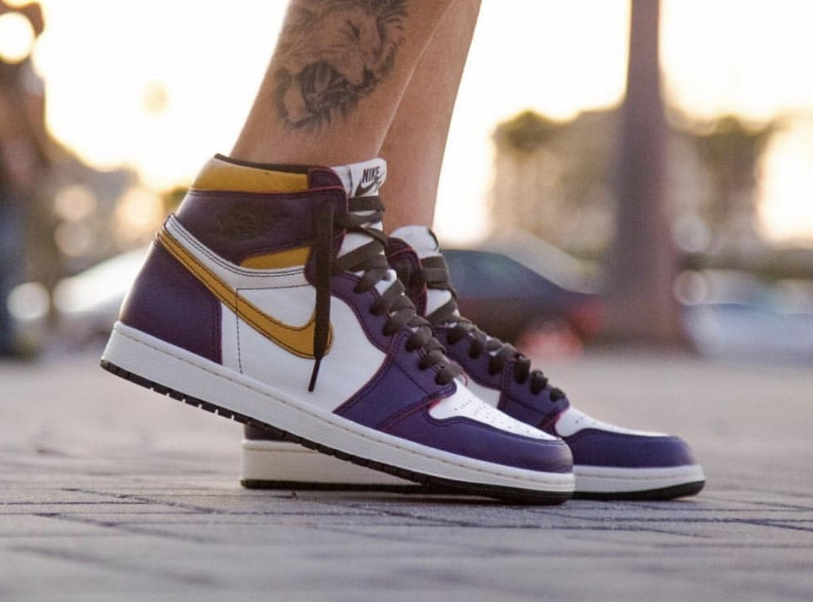 the best attitude 907ac 0bfb8 Nike SB x Air Jordan 1 Retro High OG Release Date  April 2019. Price   160.  Color  Court Purple Sail-University Gold-Black Style Code  CD6578-507