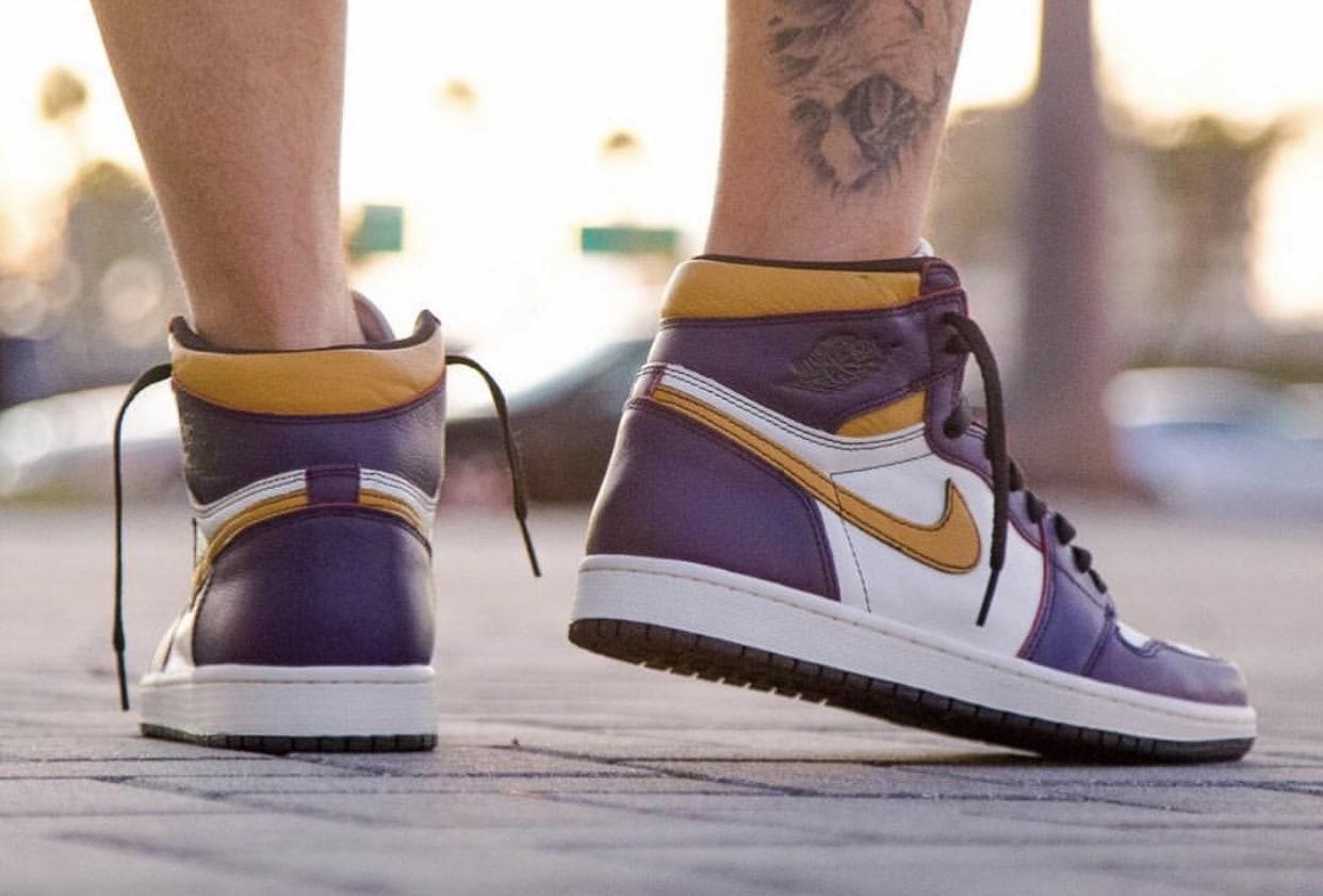 63f651398f7e Nike SB x Air Jordan 1 Retro High OG Release Date  April 2019. Price   160.  Color  Court Purple Sail-University Gold-Black Style Code  CD6578-507