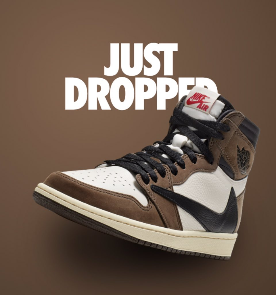 9eee7cc7453 Nike Shock Dropped Travis Scott s Upcoming Air Jordan 1 During the Grammys