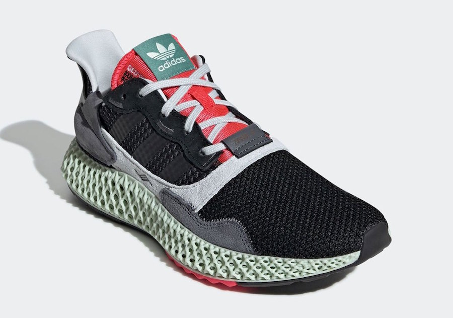 the best attitude fe03e 33431 adidas ZX4000 4D Release Date March 9th, 2019. Price 350. Style Code  BD7931
