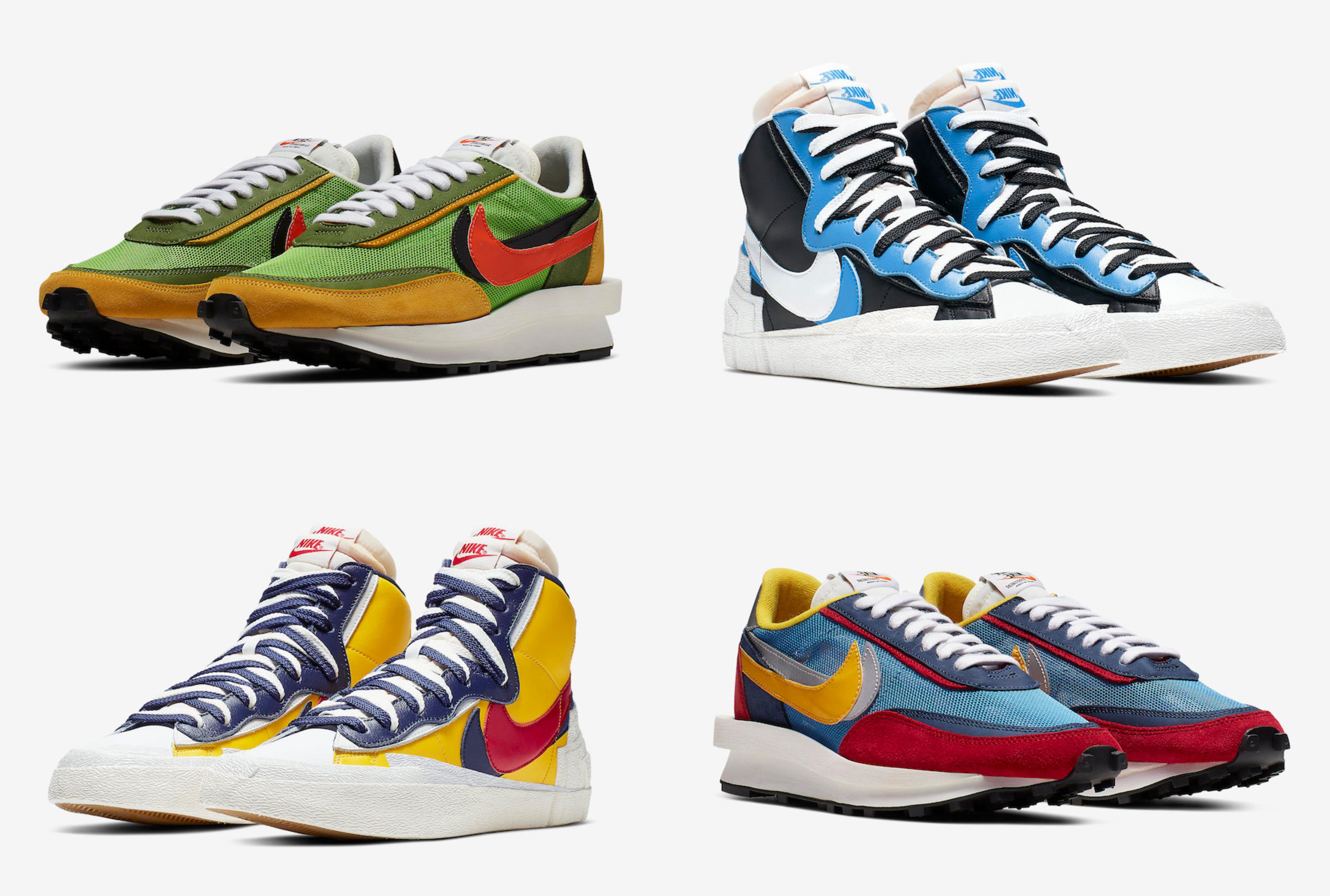 df832029e5f Where to Buy the Sacai x Nike LDWaffle and Blazer Mid - JustFreshKicks