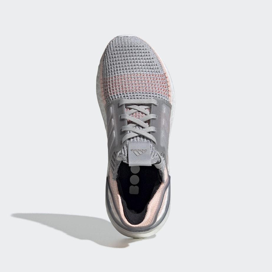 adidas Ultra Boost 19 Grey Clear Orange B75881 - JustFreshKicks
