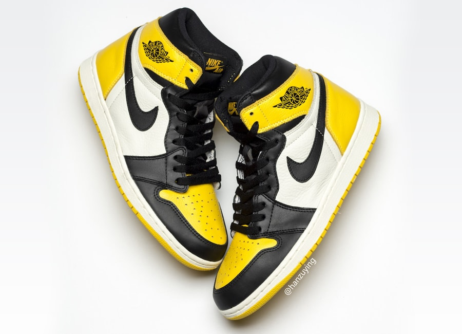 """616fb13c4c888b The Air Jordan 1 """"Black Toe"""" is probably one of the best AJ1 colorways of  all time. Coveted by fans since the original 1985 release"""