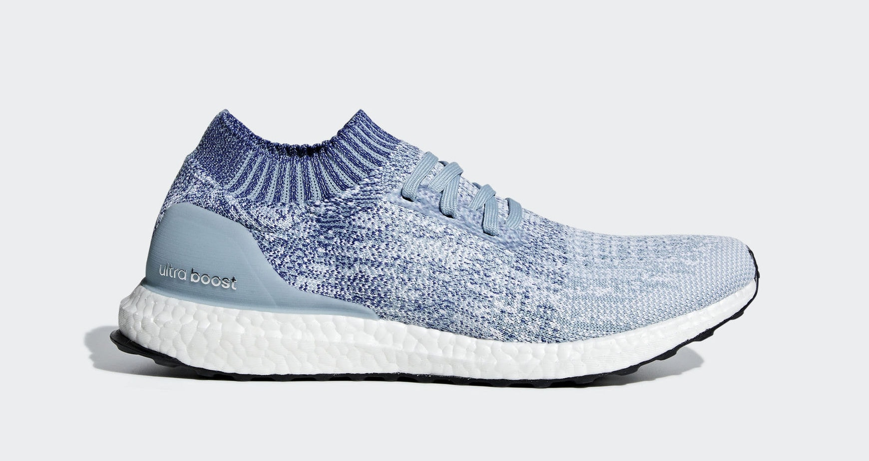 """4e697f0ff64f adidas Ultra Boost Uncaged """"Grey Blue"""" Ash Grey Active Blue Shock Red March  7"""