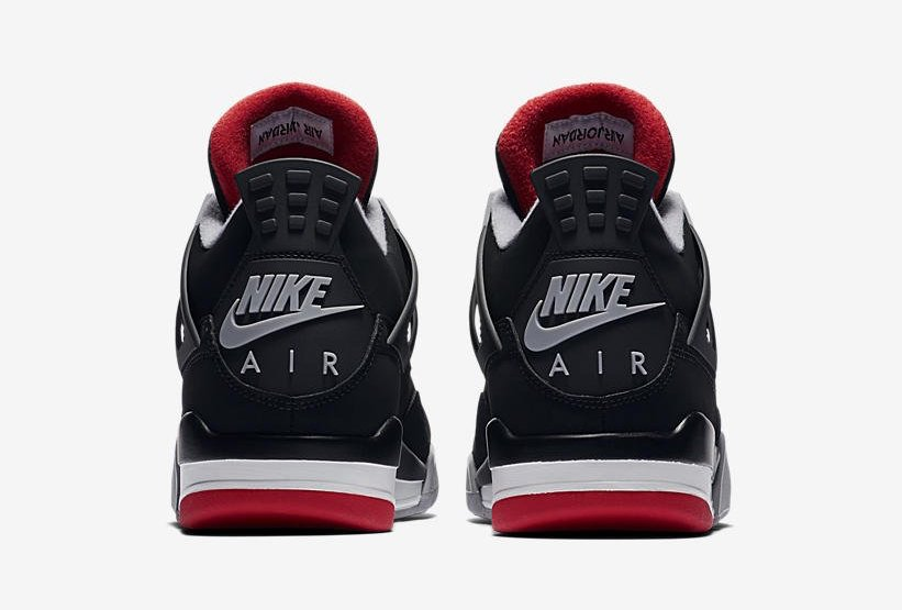 """buy popular a152c 6af55 Air Jordan 4 Retro """"Bred"""" Release Date  May 4th, 2019. Price   200. Color   Black Cement Grey-Summit White-Fire Red Style Code  308497-060"""