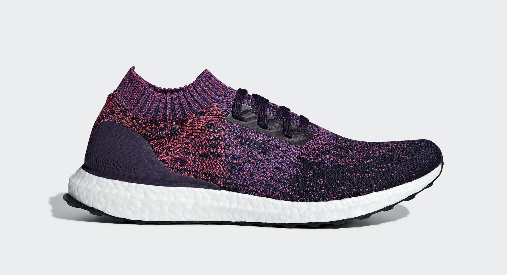 "c4156fb5b1d adidas Ultra Boost Uncaged ""Red Purple"" Legend Purple Active Blue Shock Red  March 7"