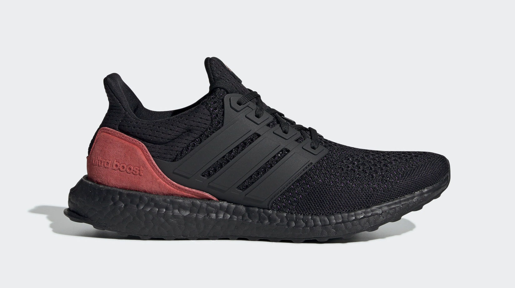"b6514b9786cfc adidas Ultra Boost CBC ""Black Purple"" Core Black Action Purple Shock Red  February 27"